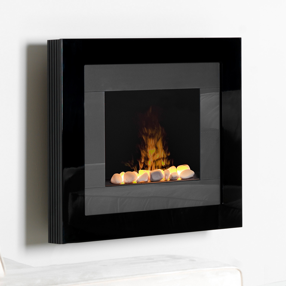 wall mount electric fireplaces  linear hanging  mounted designs - dimplex redway optimyst wall mount electric fireplace  rdyr