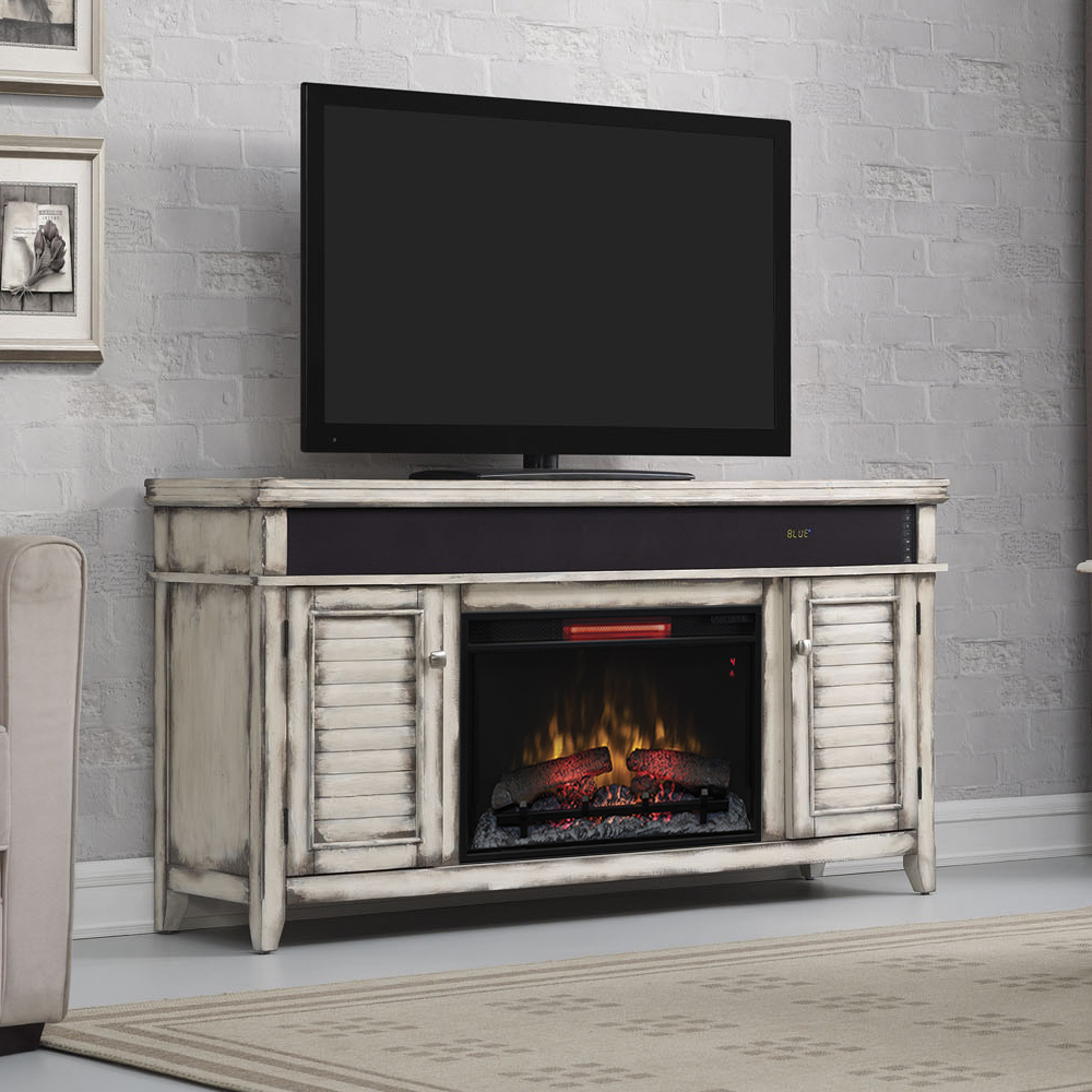 Simmons Infrared Electric Fireplace Entertainment Center