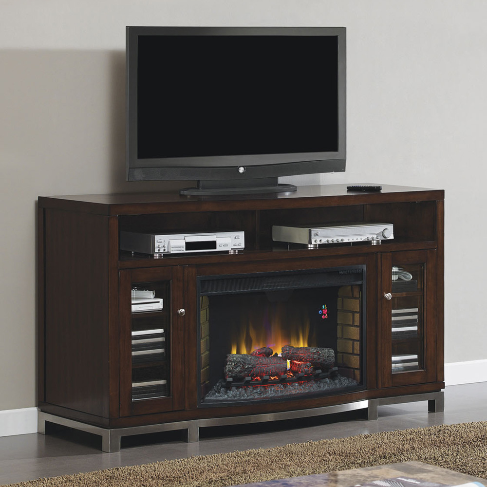 Wesleyan Electric Fireplace Media Console In Meridian
