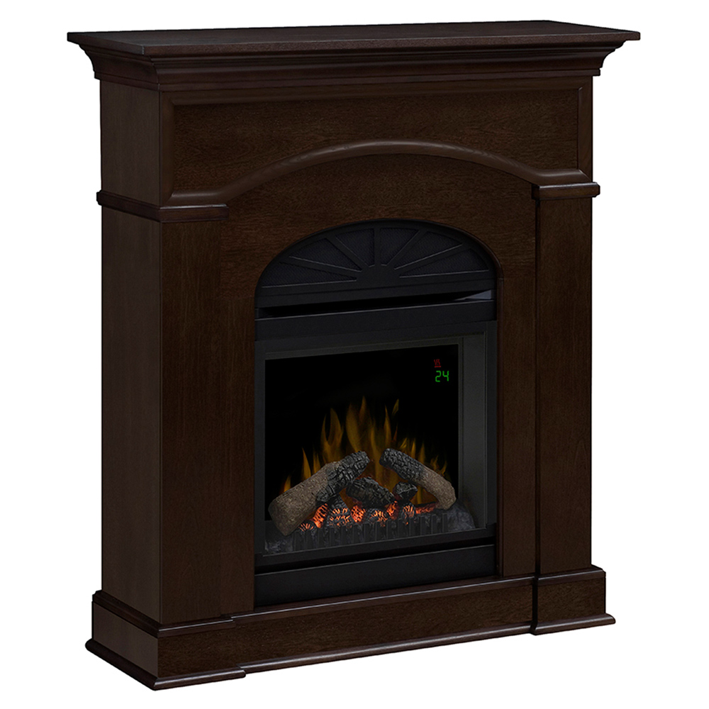 Bronte Mocha Electric Fireplace Mantel Package Dfp20l 1334ma