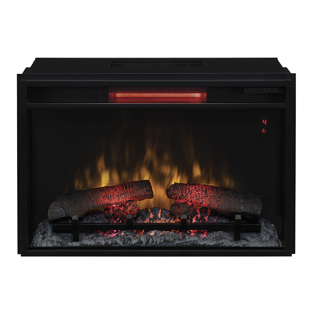Plug In Electric Fireplace Inserts: ClassicFlame 26-In SpectraFire Plus Infrared Quartz