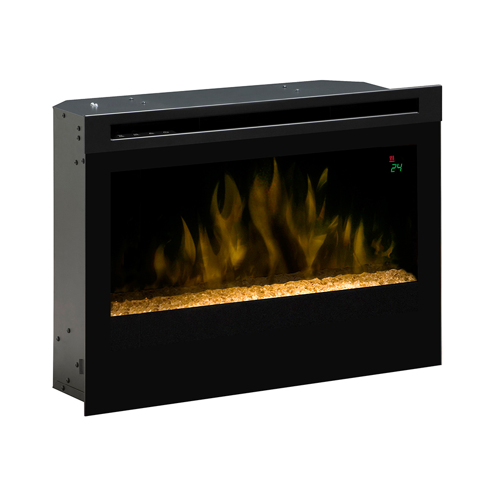 Plug In Electric Fireplace Inserts: Dimplex 25-In Contemporary Plug-In Electric Fireplace