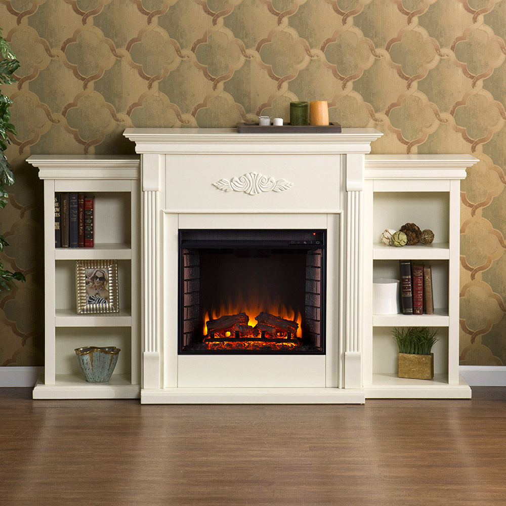 stand media console stands heating decorators the fireplaces electric faux gray in fireplace home venting collection stone depot b cooling n tv