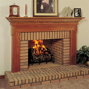 Classic Traditional Wood Fireplace Mantel Surrounds