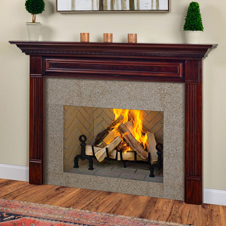 Crestwood Traditional Wood Fireplace Mantel Surrounds