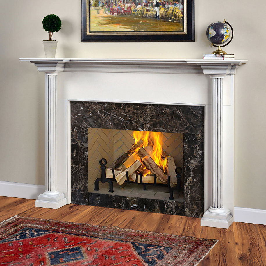 Olympus Traditional Wood Fireplace Mantel Surrounds