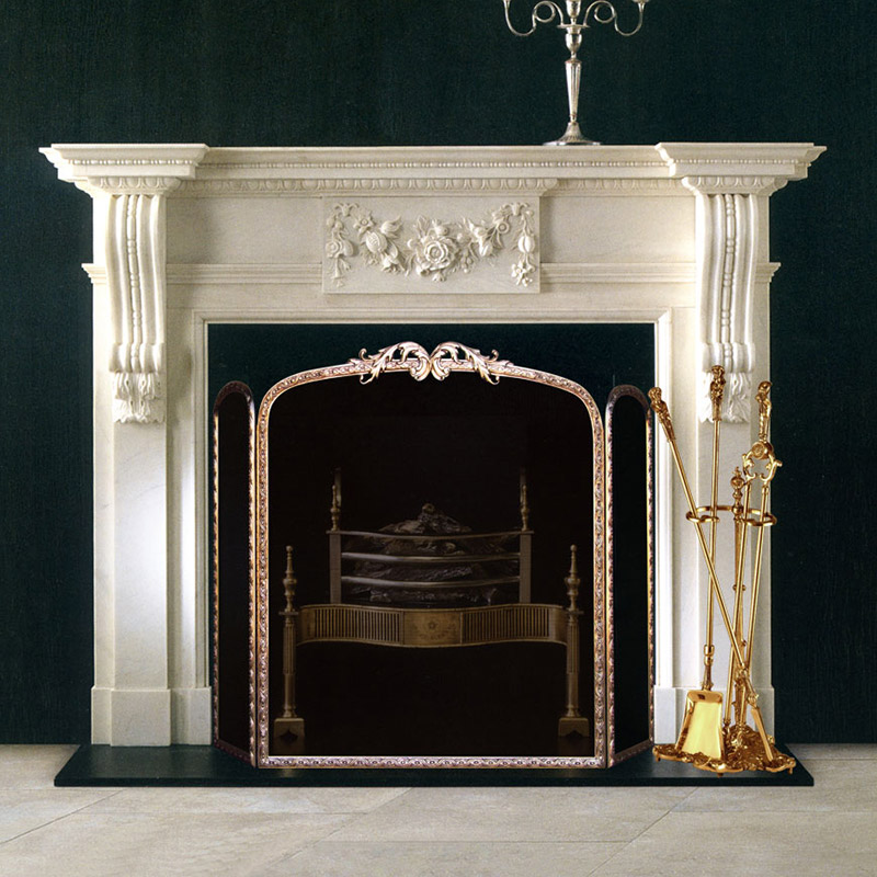 Our Fireplace Surround Facing Kits are the perfect complement to our Traditional Wood Mantel Surrounds. Completing your mantel surround with one of our .