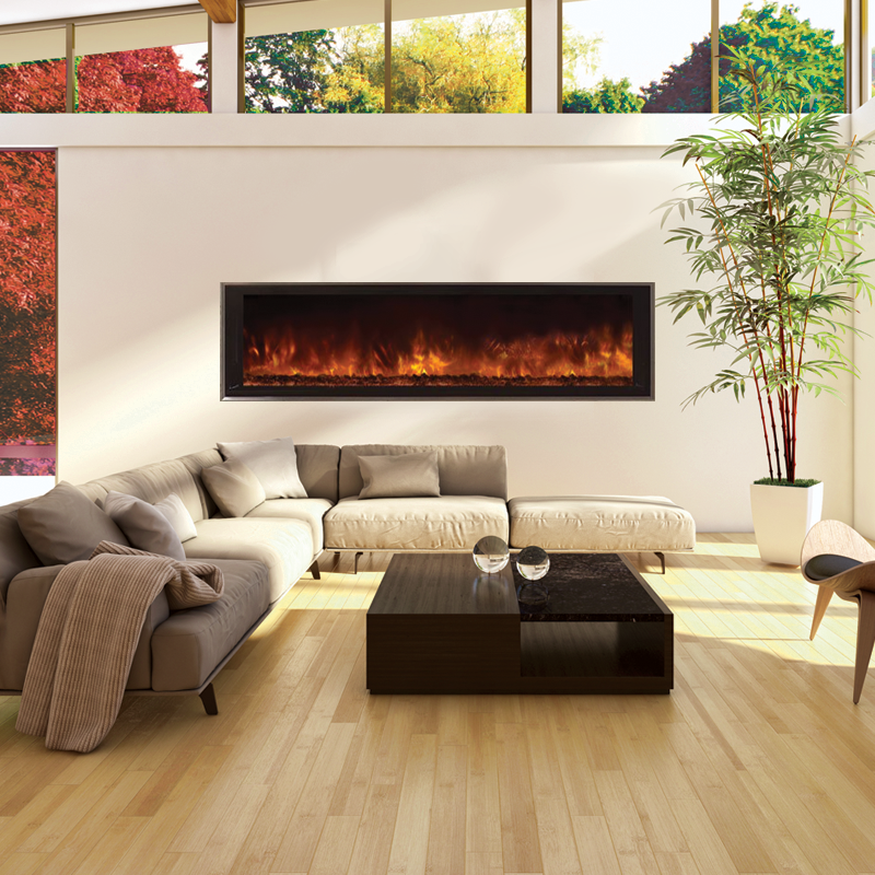 Awesome Modern Flames Landscape Fullview 60 In Built In Electric Fireplace Lfv2 60 15 Sh Download Free Architecture Designs Grimeyleaguecom