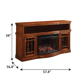 Marvelous Dwyer Electric Fireplace Entertainment Center In Burnished Download Free Architecture Designs Scobabritishbridgeorg