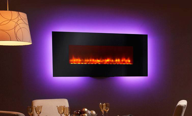 Hearth Amp Home 58 Quot Simplifire Linear Wall Mount Fireplace