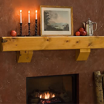 Teton Timber Fireplace Mantel Shelves Fireplace Mantel