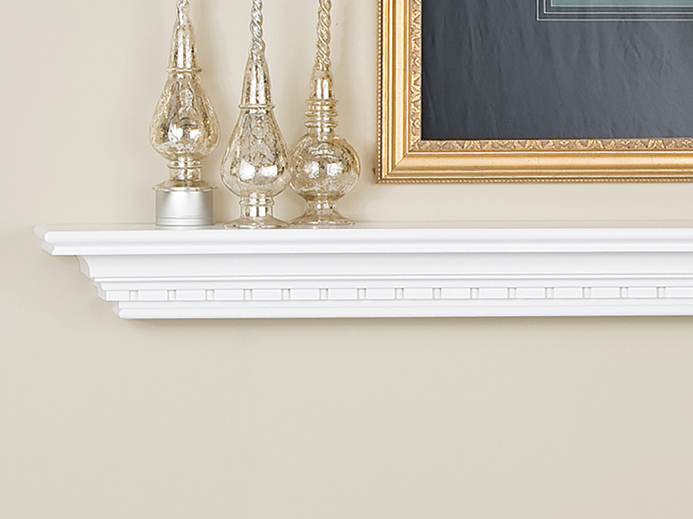 Wedgewood Wood Mantel Shelf Fireplace Mantel Shelves