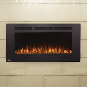 Napoleon 42-In Allure Phantom Wall Mount Electric Fireplace - NEFL42FH-MT