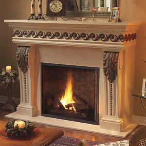 Manchester Steelmill Collection Fireplace Mantel