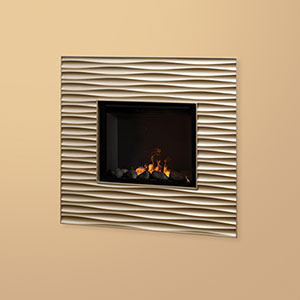 Dimplex Willowridge Opti-Myst Wall Mount Electric Fireplace - OWF25BR-1448CP